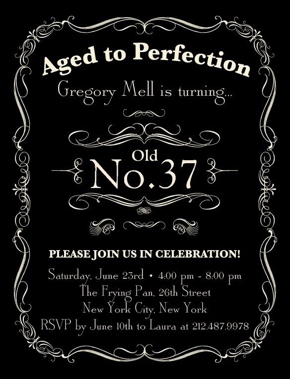 19 best Daryls 40th images on Pinterest Invitations Birthdays