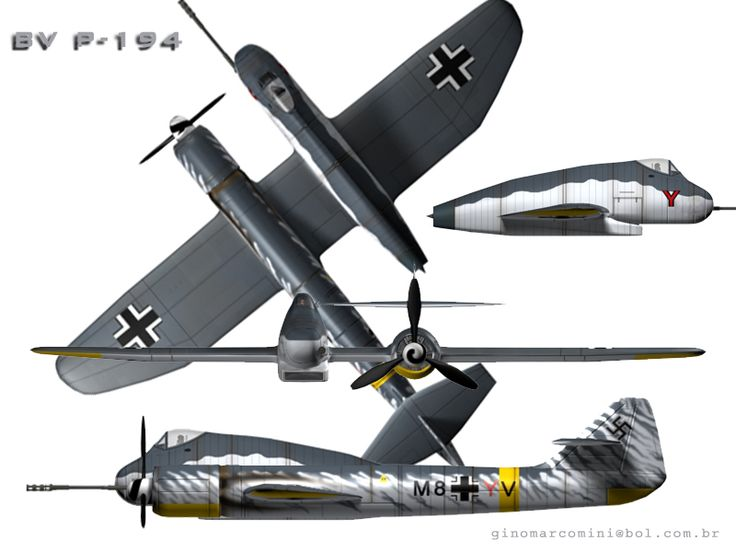 Henschel Hs P.75 4V - Szukaj w Google NOTE : Wiki does NOT have a section on this aircraft. The pic is probably an artist's impression.
