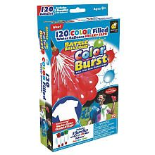 Telebrands Battle Balloons Color Combat Color Filled Water Balloon Maker Kit