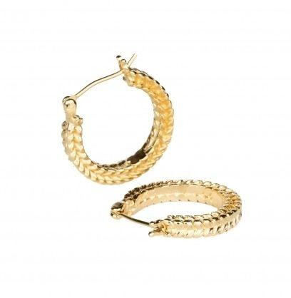 PICO - CORN CREOL EARRING GOLD - 299 kr.