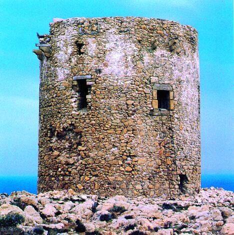 Buggerru - torre di Cala Domestica