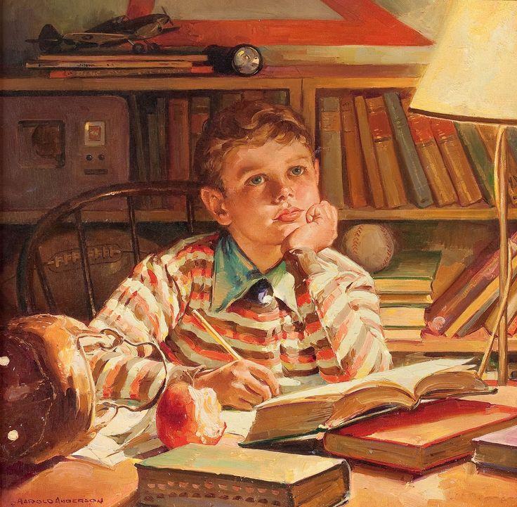 "Harold Anderson ""day dreaming"""