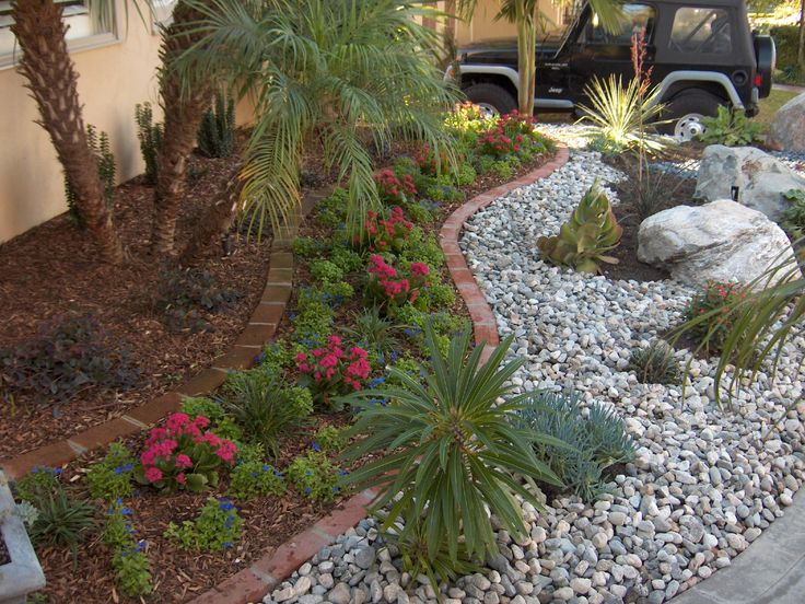 Design kenn cross concepts rocks gravel cobbles and for River rock yard ideas