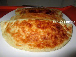 crêpe turque/ Gozleme à la viande