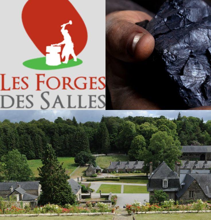 Le site des forges des salles est un musée et village reconstitué qui abrite des forges à bois les plus anciennes de Bretagne.