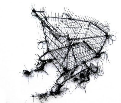 Debbie Smith - drawing with thread