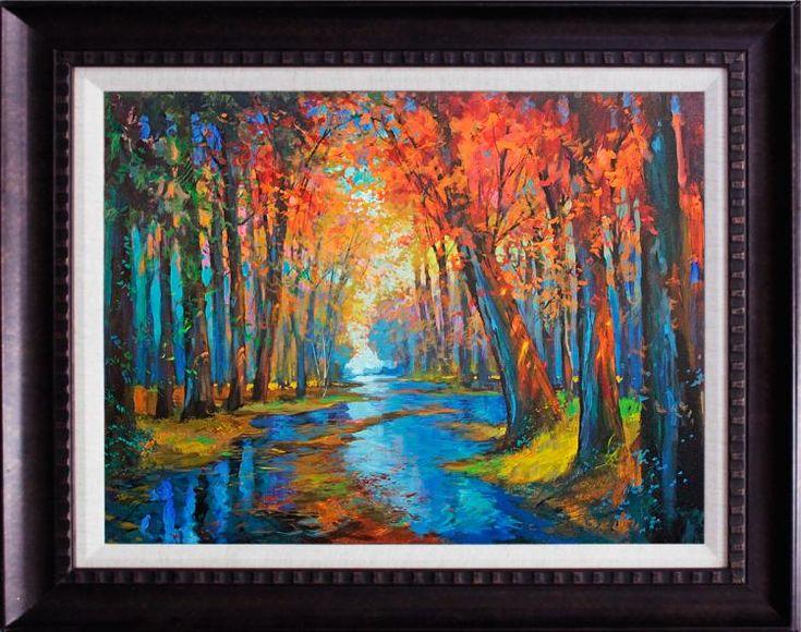 I think this is stunning. Artist: Michael Schofield; Title: unknown; Medium: Original Oil on canvas.