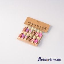 Musical Wood Clip