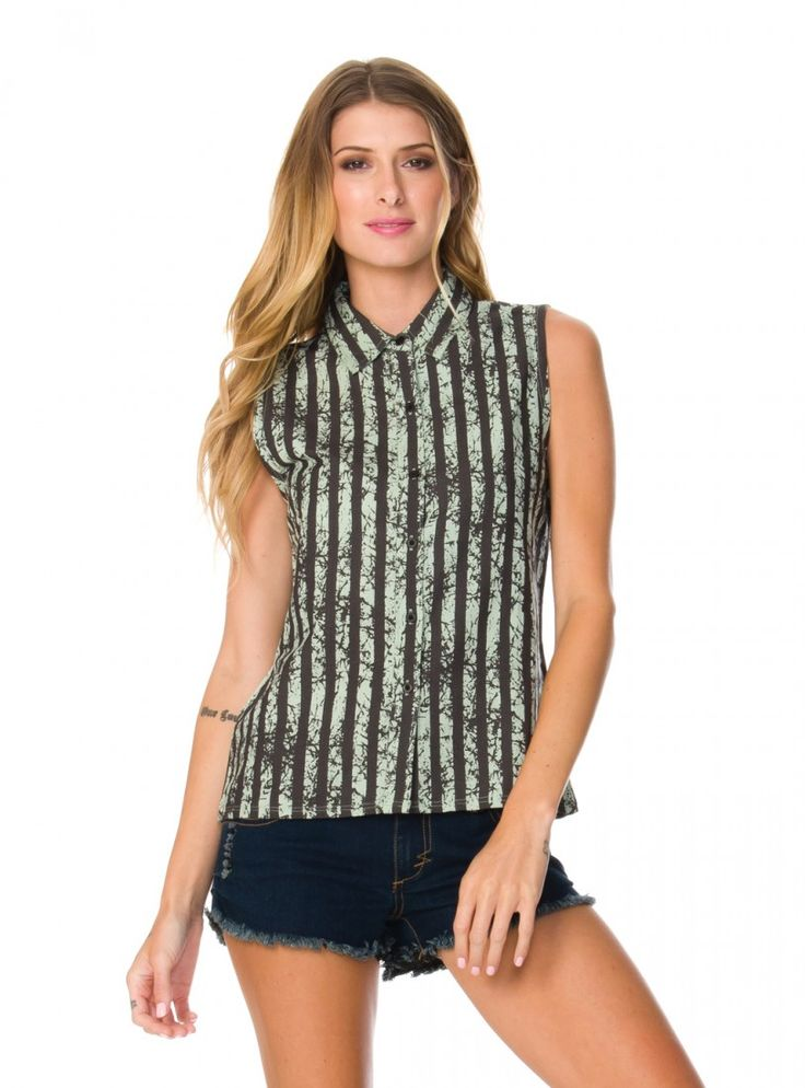 The Free Rode sleeveless woven by RVCA