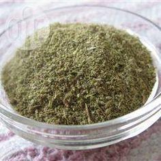 Sazonador de hierbas italianas @ allrecipes.com.mx