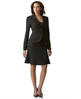 Classic black dress suit piece. A great choice for an interview or for everyday.