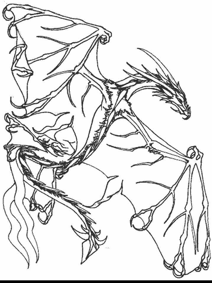 Flying Dragon | Dragon coloring page, Coloring pages ...