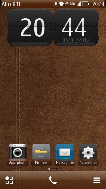 Free Brown Leather theme by sevimlibrad on Tehkseven