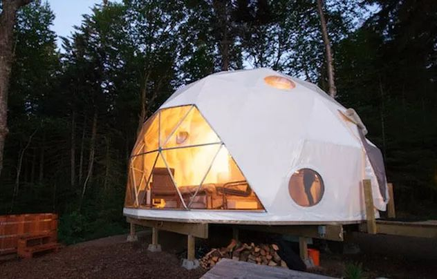 Asheville North Carolina Glamping, Vintage Trailers and Glamping Tents | Photos