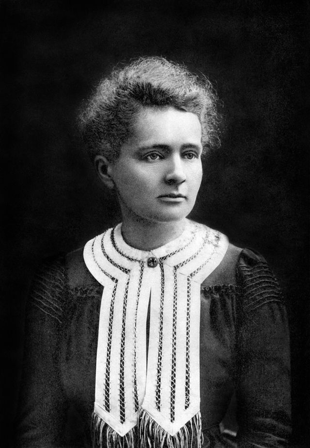 Marie Curie Quotes: Marie Curie in Nobel Prize portrait, 1903
