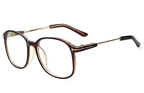 Küssen U Jahrgang Retro Klassisch Stil Übergroß Vollbild Nerd Aussenseiter Klare Linse Augen Brille (Braun). Diese Brille ist so ein Mode-Stück mit Ihren Outfits zu tragen. Haltbarer Rahmen den Sie Ihr Rezept in ihm setzen können #apparel #eyewear … – agus ls