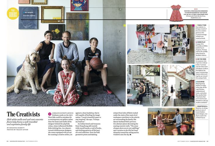 The Creativists in Vancouver Magazine September 2014
