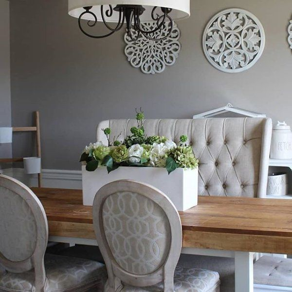 Dr Fixitupper S Requisite Gray Dining Room Project Sherwin Williams Paint Colors Paint Colors Purple Paint Colors #requisite #gray #living #room