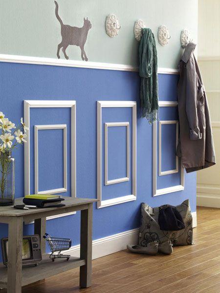 Die besten 25+ blau Raumdekor Ideen auf Pinterest gemütlicher - wohnideen selbermachen jahrgang