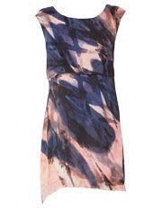 Wayne by Wayne Cooper - Night Brush Print Tunic