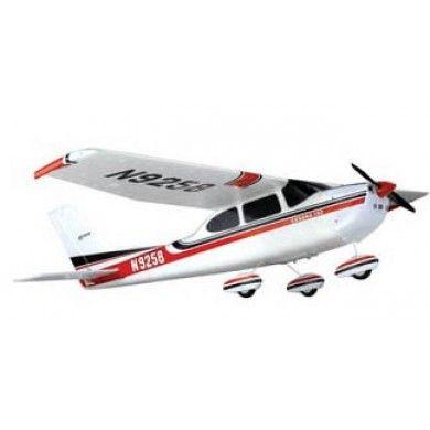 Zdalnie sterowany Samolot Cessna 182 2.4GHz RTF to odpowiednik amerykańskiego górnopłatu, który to został wykonany z wytrzymałej pianki EPO odpornej na uderzenia i wszelkiego typu uszkodzenia. Aby móc go użytkować nie musimy go składać, lecz wystarczy jedynie kilka baterii do zasilania. Opis, dane techniczne, komentarze oraz film Video znajdziesz na naszej stronie, nie ma jeszcze komentarzy, to czemu nie zostawisz swojego:)
