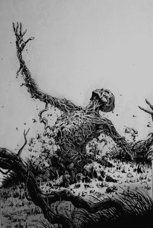 Revenant- European folklore: an animated corpse that comes back to haunt the one who murdered it.