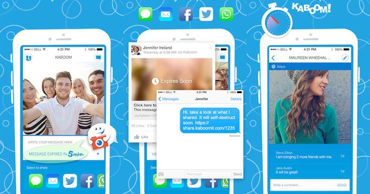 A lista de apps para iOS desta semana traz ótimas opções para melhor a experiência com o gadget. Para começar, tem o Kaboom, um app que permite enviar mensagens que desaparecem depois de visualizadas. Em seguida, há o wiMAN Free ...