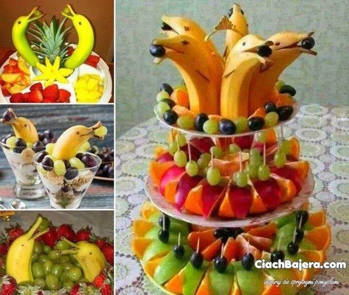 (95) Одноклассники - Красивая фруктовая нарезка