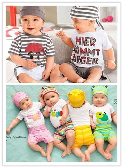 Baby clothing casual cute letter baby boy clothes short sleeve character baby sets toddler boys clothing 2015 New baby clothing-in Clothing Sets from Mother & Kids on Aliexpress.com   Alibaba Group