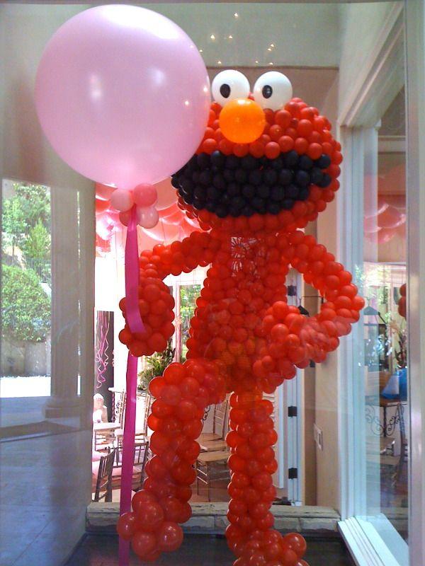 elmo balloon figure