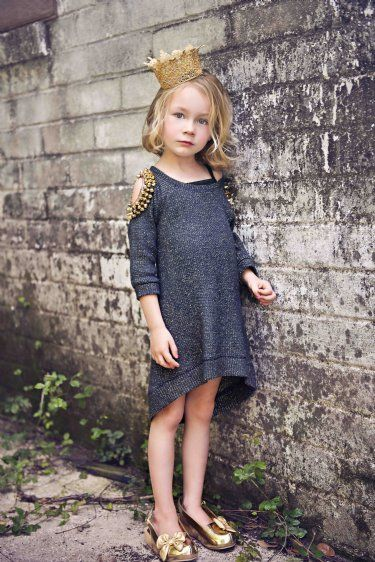 City Girl Sweater Dress / How Cute IS This But If It Was My Daughter She'd Have So Tights On Under