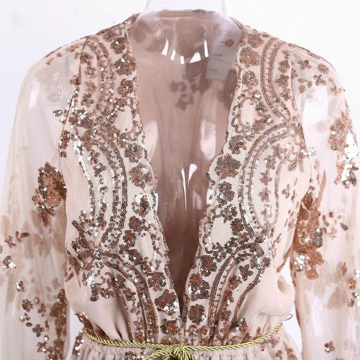 Deep V Neck Sequin Jumpsuit Romper-Rompers-Look Love Lust, https://www.looklovelust.com/products/deep-v-neck-sequin-jumpsuit-romper
