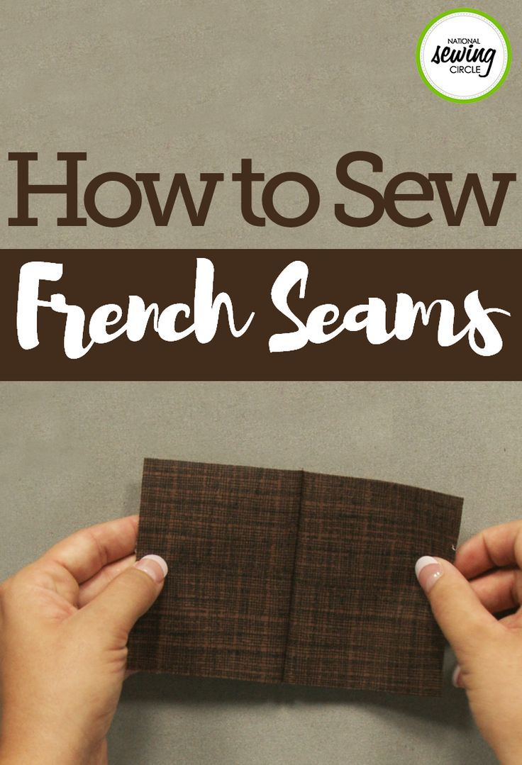 When learning how to sew a french seam, one of the hardest things to remember is that you need to start with the fabric wrong sides together. This is counter intuitive to what you may have learned in general sewing practices, however, Ashley explains why it is necessary. It is also something that can be tricky if the right and wrong sides of your fabric look similar, so you may way to mark the right side of the fabric prior to starting.
