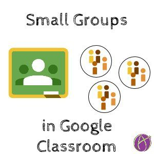 When assigning work to small groups of students instead of the whole class the trick is to include the audience in the description or document title. …