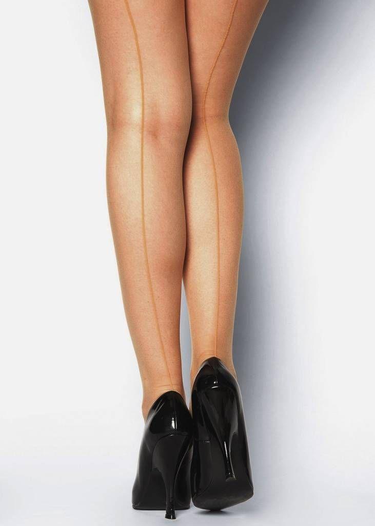Geef elke outfit net dat beetje extra met deze sexy Linette naadpanty van het merk Gabriella. De strakke, wat dikkere naad start bij je hiel en loopt helemaal d