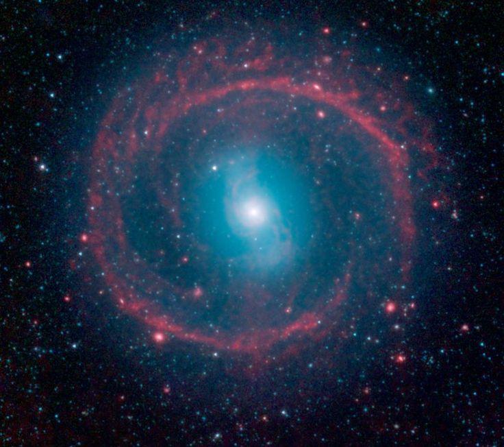 Galaxia NGC 1291. Telescopio Espacial Spitzer.