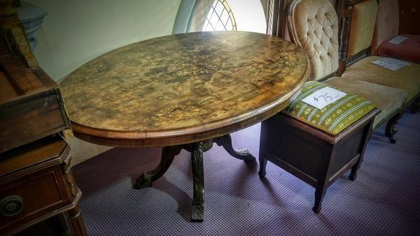 GA1175   -   George II inlaid table c1740