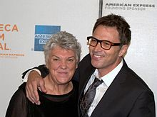 Tyne Daly with her brother Tim Daly, 2009