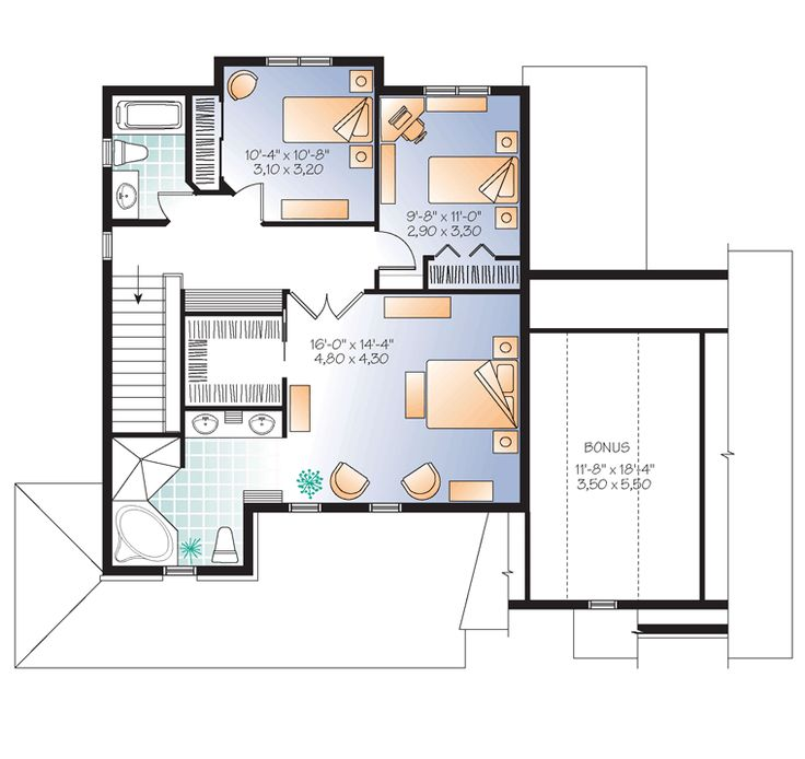 25 for Unique european house plans