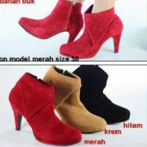 Boots Semi Heels - AyeshaShop.Com