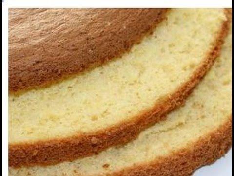 Το πιο Εύκολο και ΑΦΡΑΤΟ Παντεσπάνι - The best Sponge Cake Ever - YouTube
