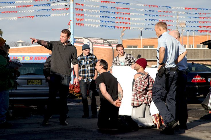 """Still from feature film promo """"Caryard"""""""