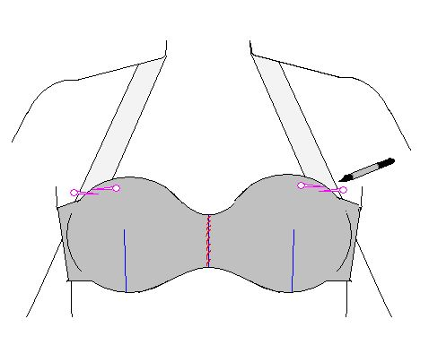 Shushanna Designs: How to Cover a Bra