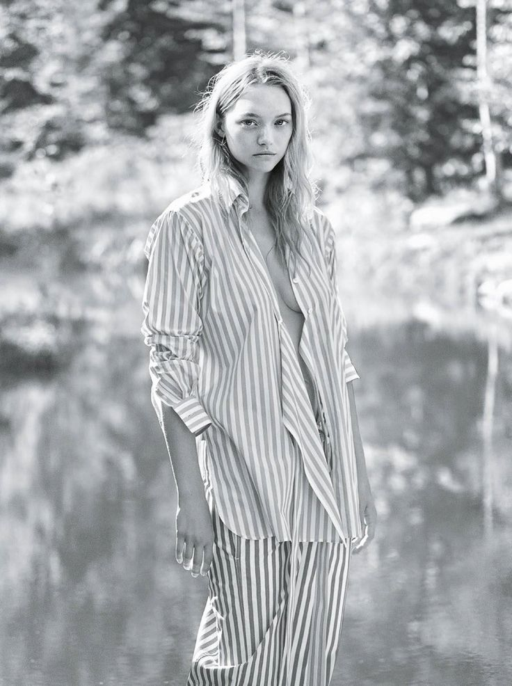 Vogue Australia January 2016 – Gemma Ward by Lachlan Bailey