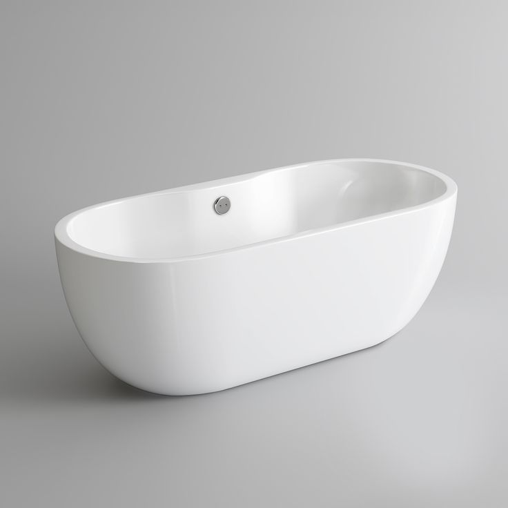 1550x760mm Taal Freestanding Bath - Small