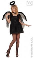 Disfraz de Ángel Negro para mujer