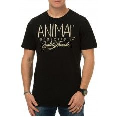 Animal Liner T-Shirt Black