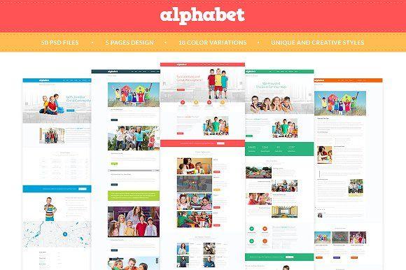Memphis Style Alphabet Bundle In 2020 Wedding Website Template Alphabet Web Design