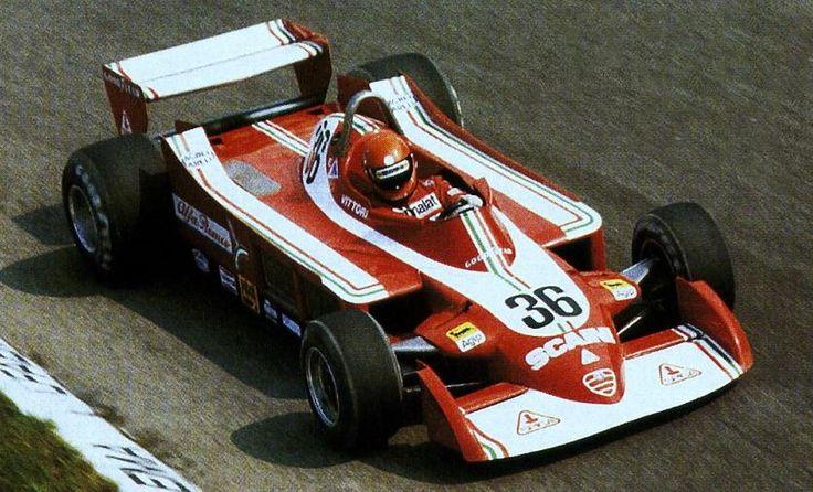 Vittorio Brambilla - Alfa Romeo 177 / Monza.(1975)