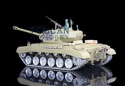 ﹩325.00. HengLong 1/16 USA Pershing M26 RTR RC Tank Customized Ver Metal Road Wheels 3838   Scale - 1:16, Type - Tanks, Fuel Source - Electric, State of Assembly - Ready-to-Go, Gender - Boys  Girls, Fuel Type - Electric, Replica of - U.S.A Pershing, Required Assembly - Ready to Go,